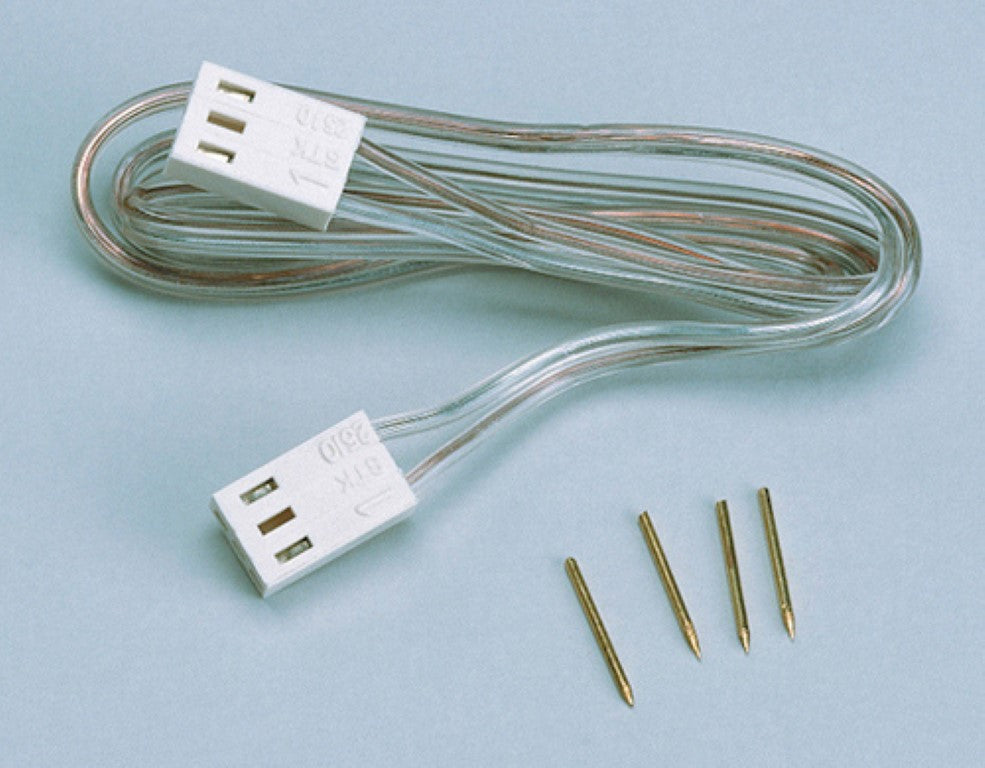 Dollhouse Miniature Adapter Cord with 2 Plugs #CK1028 - It's Totally Minis
