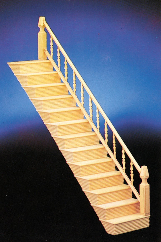 Dollhouse Miniature Staircase, Assembled #CLA70280