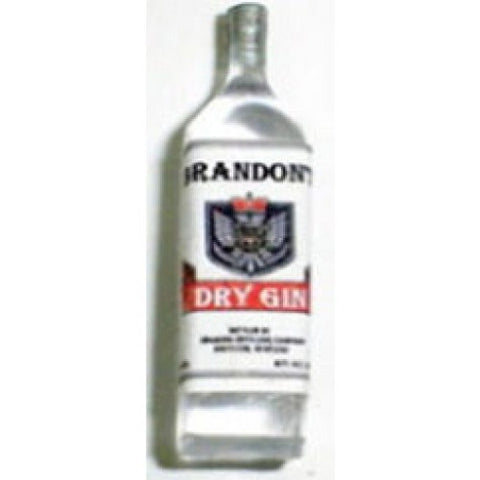 Dollhouse Miniature Resin Liquor Bottle, Brandons Dry Gin #HR53971
