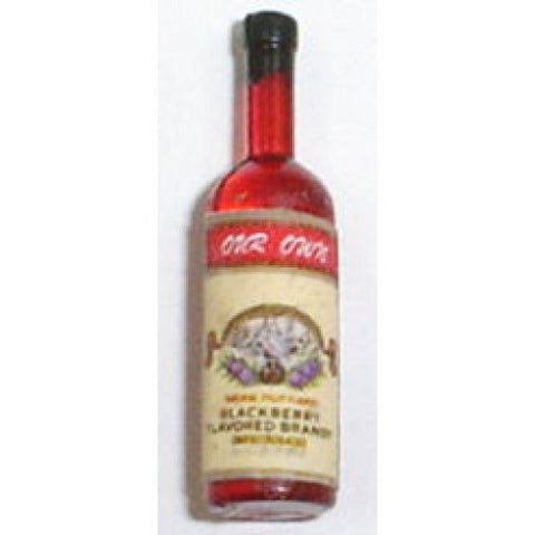 Dollhouse Miniature Resin Blackberry Brandy #HR53976