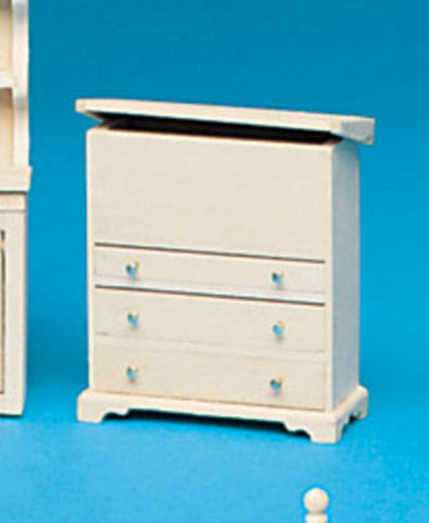Dollhouse Miniature Chest Of Drawers Kit #HW13108
