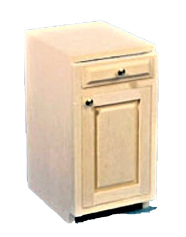 Dollhouse Miniature Base Cabinet Kit, 1-1/2In #HW13401