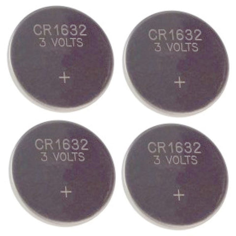 Dollhouse Miniature Lithium Batteries, CR1632, Pkg of 4 #HW2363