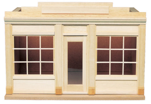 Dollhouse Miniature Two Window Shop Kit #HW9993