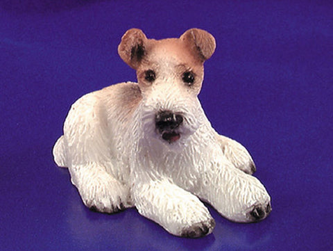 Dollhouse Miniature Airedale Terrier #IM65139