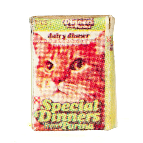 Dollhouse Miniature Box Of Cat Food #IM65153