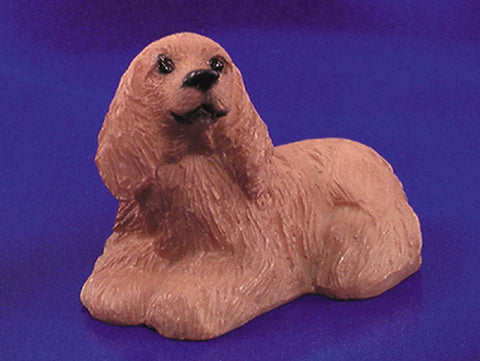 Dollhouse Miniature American Cocker Spaniel #IM65272