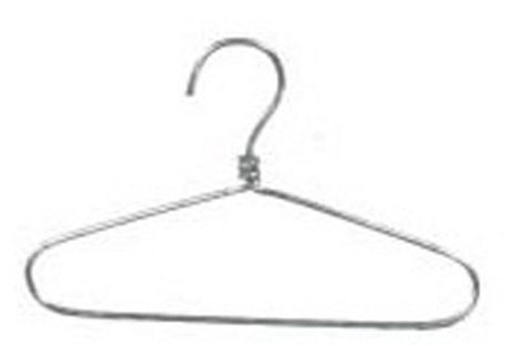 Dollhouse Miniature Wire Hanger #IM65469