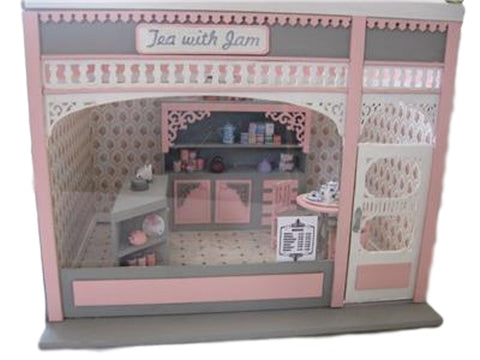 Dollhouse Miniature 1:24 Scale Room Box Kit with Victorian Façade #ME0120