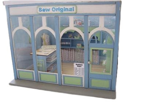 Dollhouse Miniature 1:24 Scale Room Box Kit with Art Deco Façade #ME0140