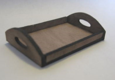 Dollhouse Miniature 1:24 Scale Serving Tray Kit #ME0150