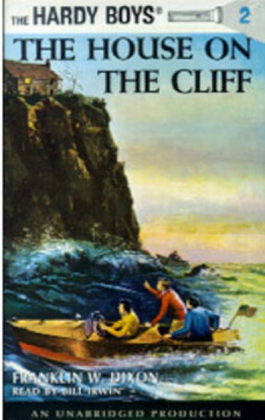 Dollhouse Miniature Book, Hardy Boys, House on a Cliff - Readable #TIN3002 - It's Totally Minis
