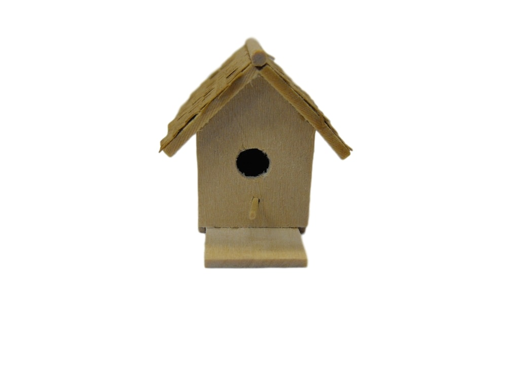 Dollhouse Miniature Birdhouse Kit #TSC003