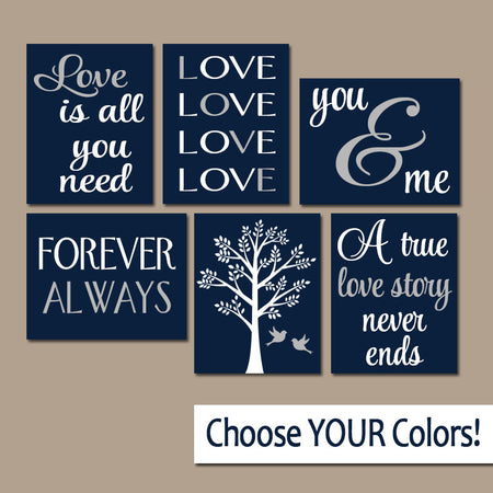 FAMILY Wall Art, Canvas or Prints Custom LOVE Story QUOTES ...