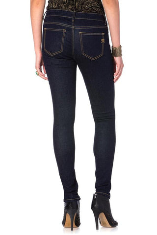 *Miss Me Simple Five Pocket Midrise Super Skinny Jeans (MO5203G19)
