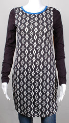 Threads 4 Thought Black and White Hi/Lo Tunic - 40% Off