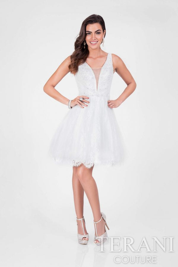 Terani Couture Short Prom Dress Style #1711P2240