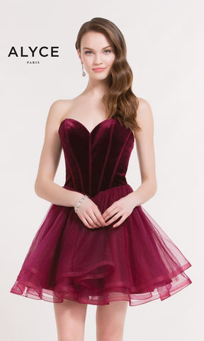 Alyce Paris Ballet Style Dress (Style #2643)