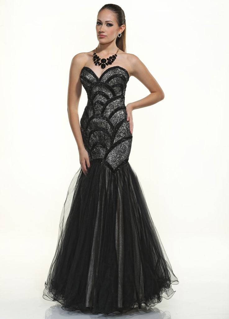 "Disney Forever Enchanted ""Stroke of Midnight"" Prom Dress"