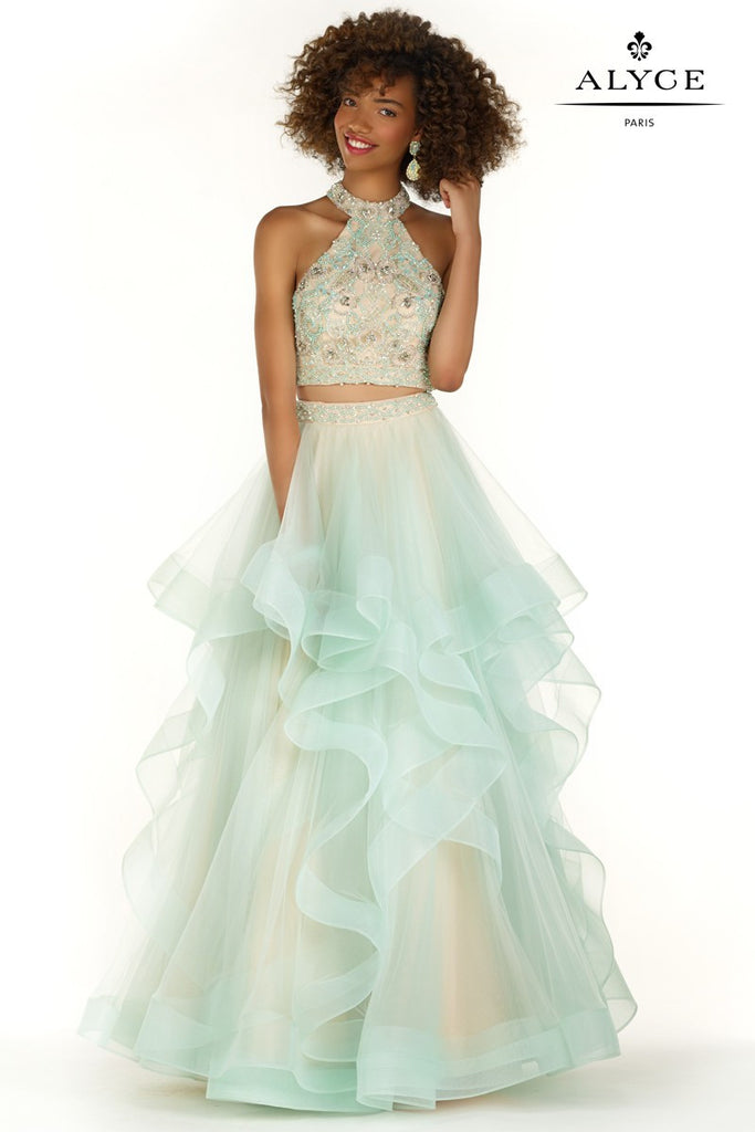 Alyce Paris Two-Piece Ball Gown Style 6744