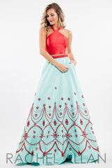 Rachel Allan Two-Piece Prom Dress Style 7533