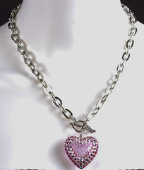 Tarina Tarantino Electric Heart Necklace