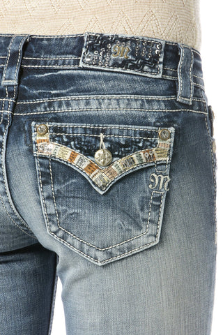 "*Miss Me ""Summer Tour"" Mid-Rise Boot Cut Jeans (MP7291B)"