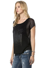 Miss Me American Retro Top (MDT892S)