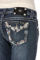 "*Miss Me ""Summer Spell"" Boot Cut Jeans (JP8288B)"