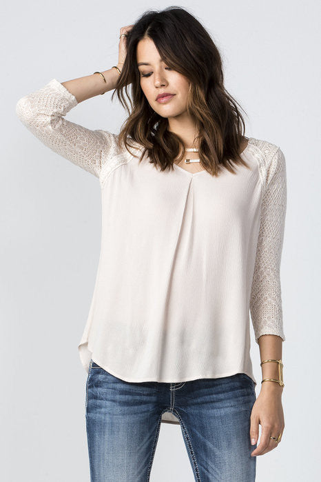 "Miss Me ""On Cloud Nine"" Long Sleeve Top (MDT1376L)"