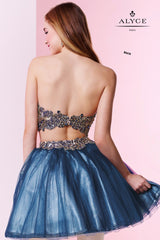 Alyce Paris Short Two-Piece Formal Dress (Style #4433)