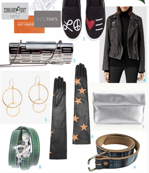 Nyet Jewelry  featured in Second City Style mag's holiday gift guide 2015!