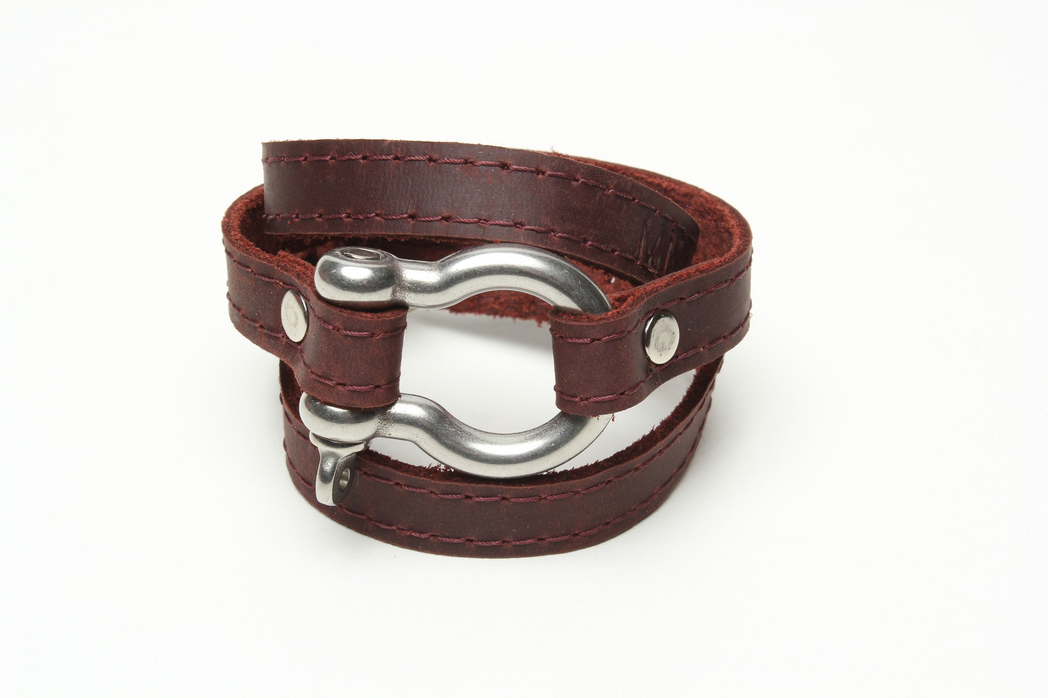 Signature Shackle Wraparound Bracelet by nyet jewelry.