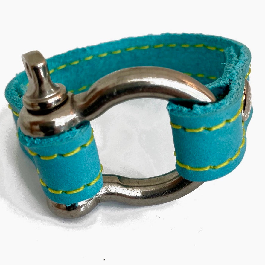 Signature bracelet aqua by NYET Jewelry