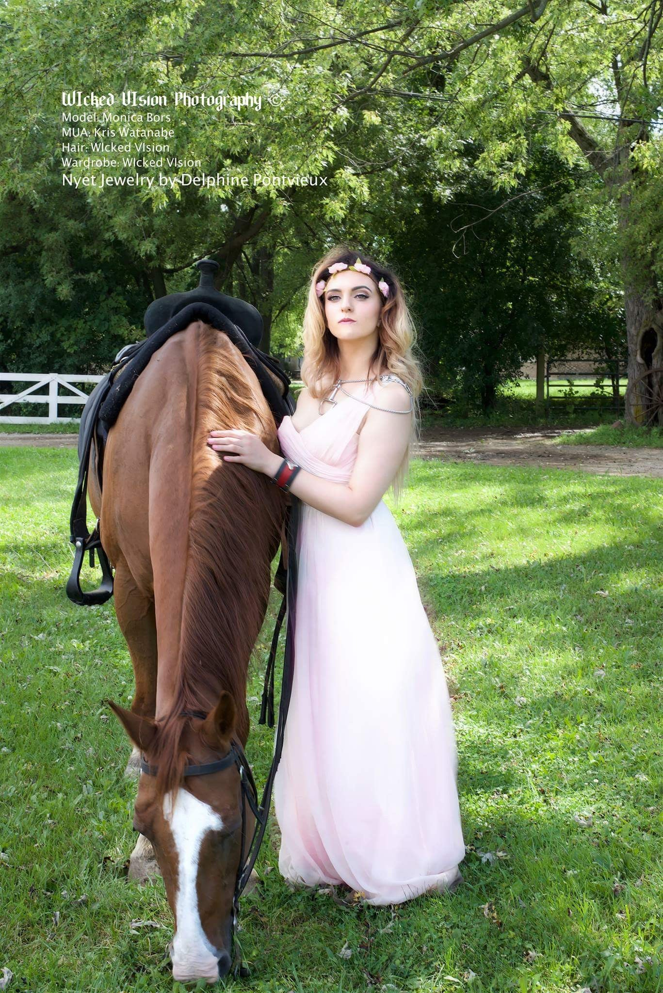EQUESTRIAN PHOTOSHOOT FOR WICKED VISION MAGAZINE
