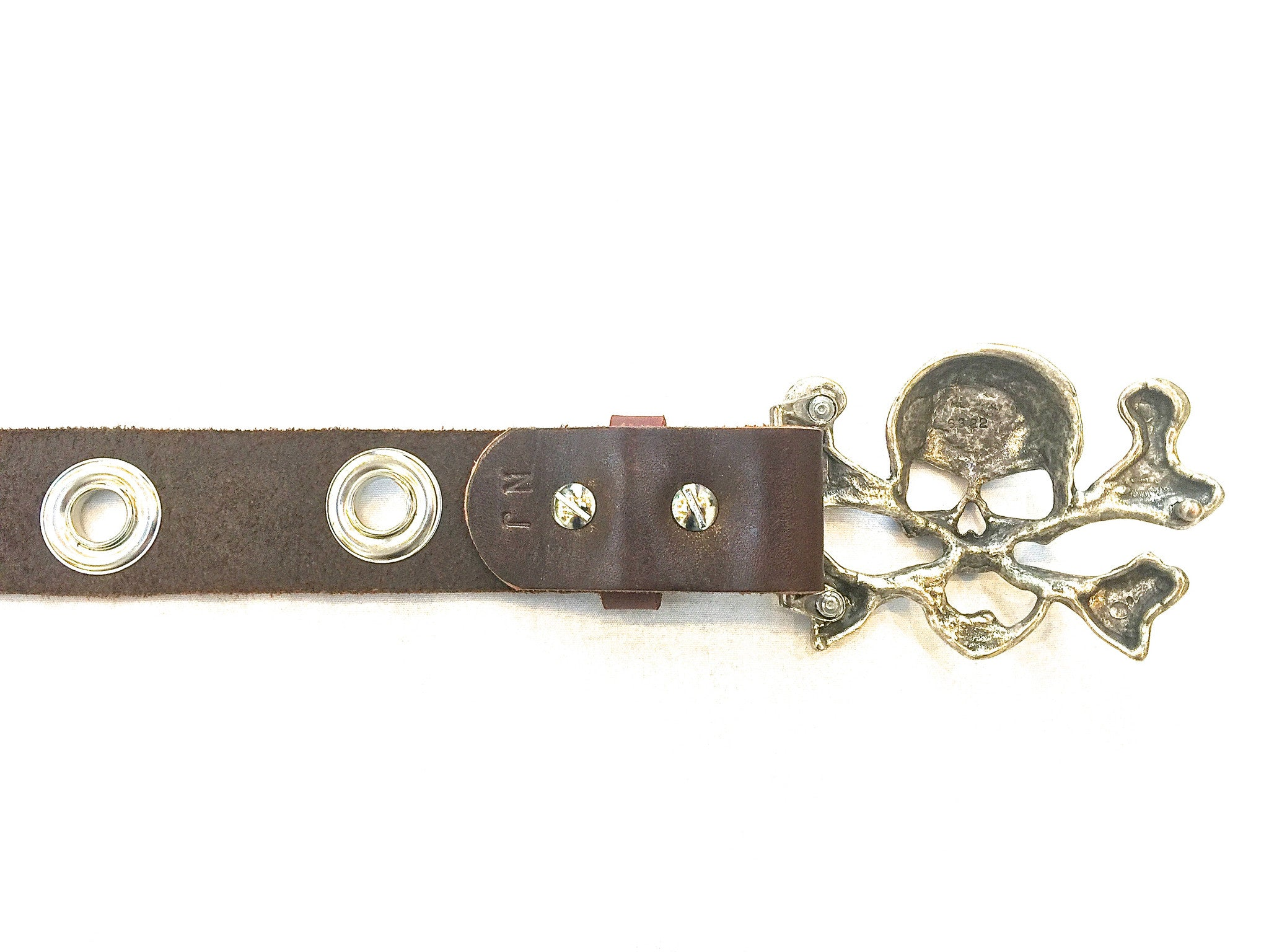 Skull and Portholes belt