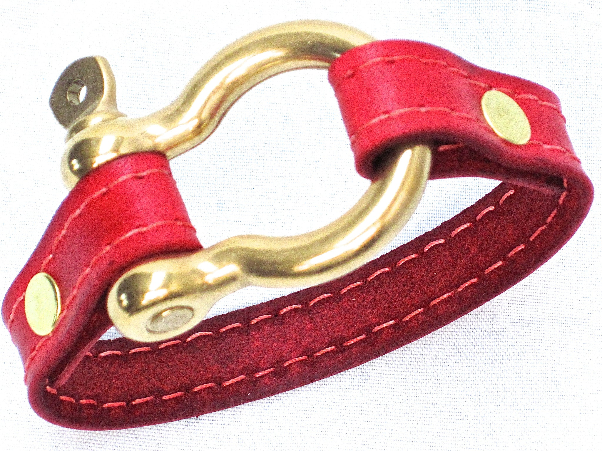 Nyet jewelry Signature Gold Bracelet Red by nyet jewelry