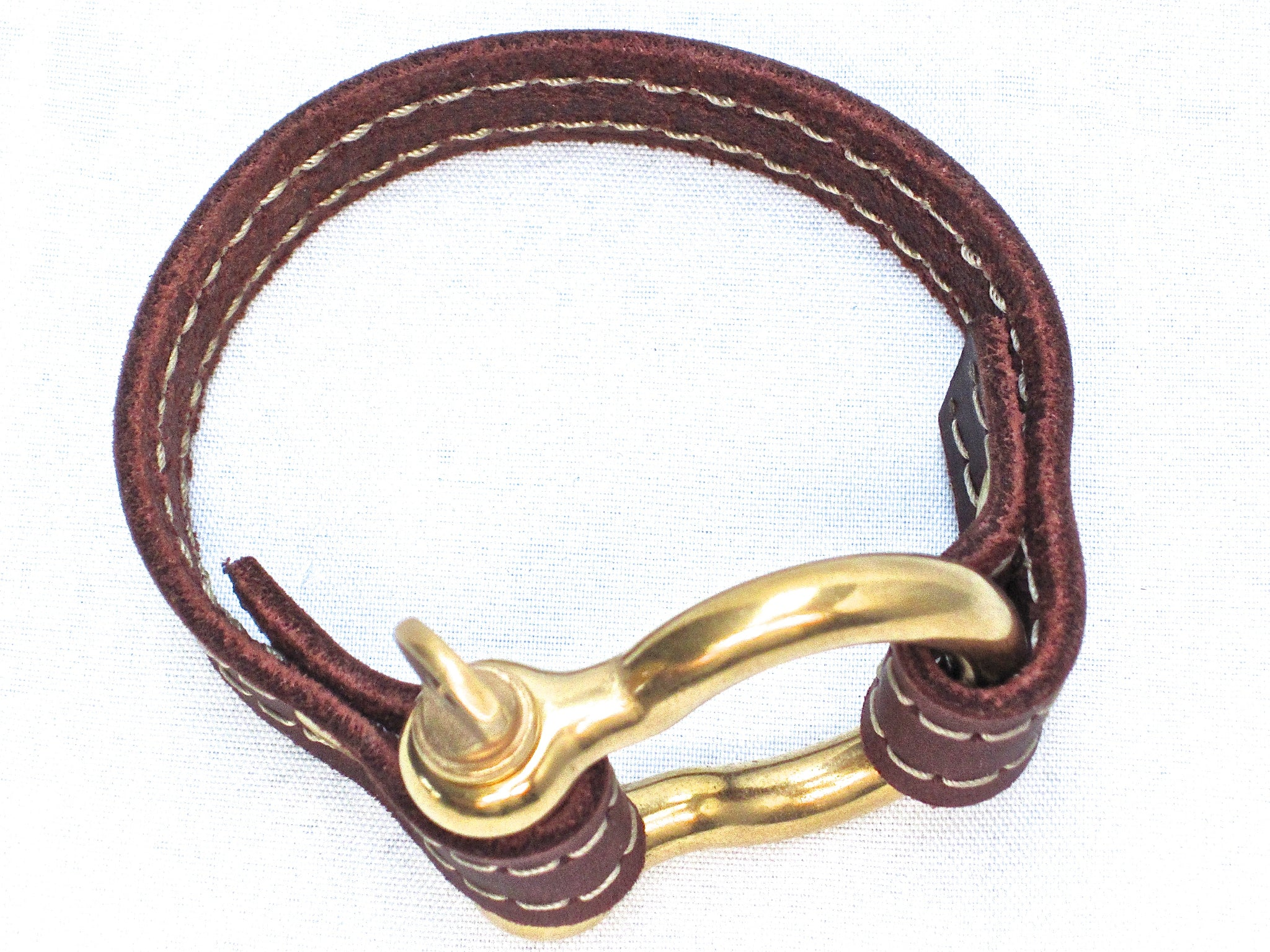 Nyet jewelry Signature Gold Bracelet Brown by nyet jewelry
