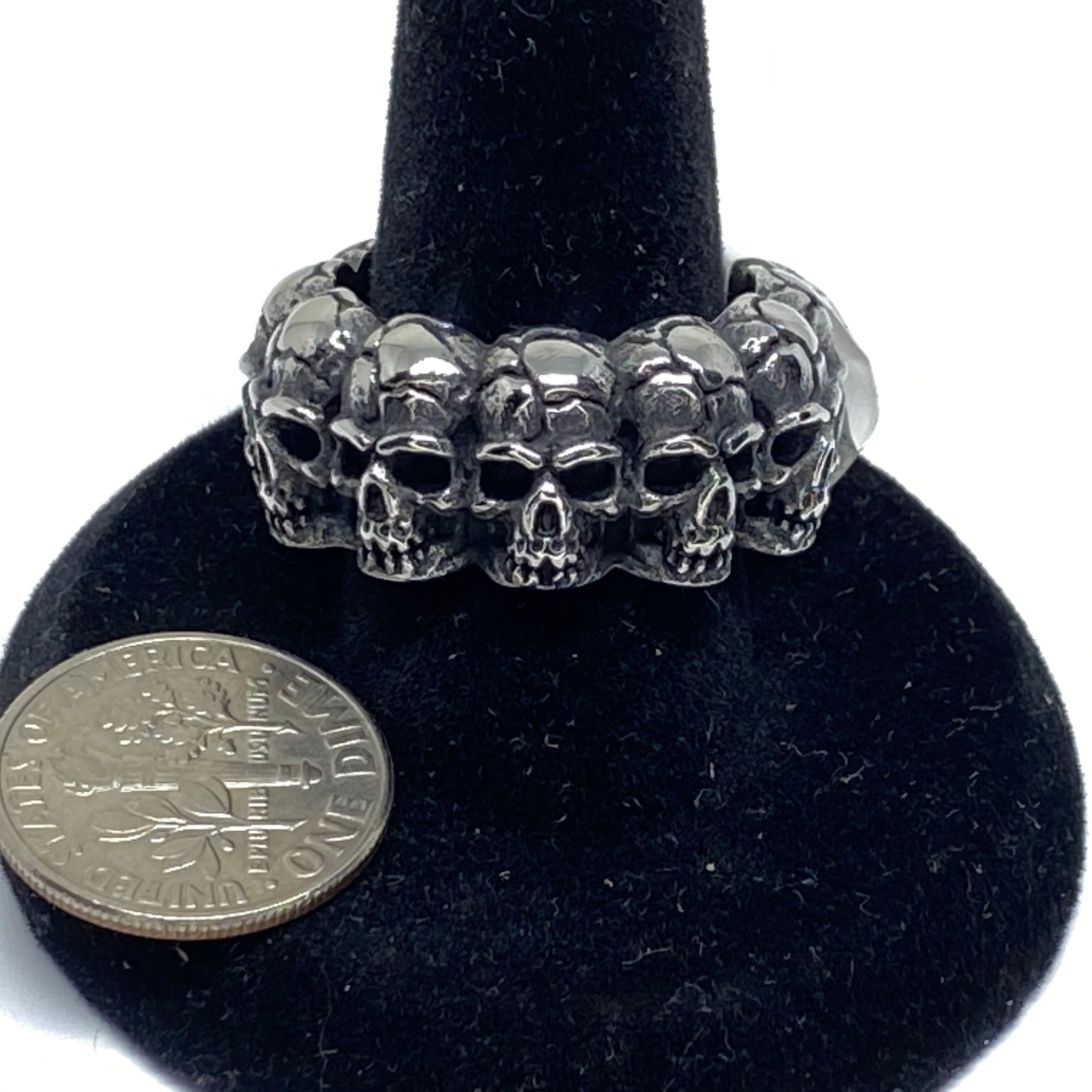 Skull Stainless Steel Band