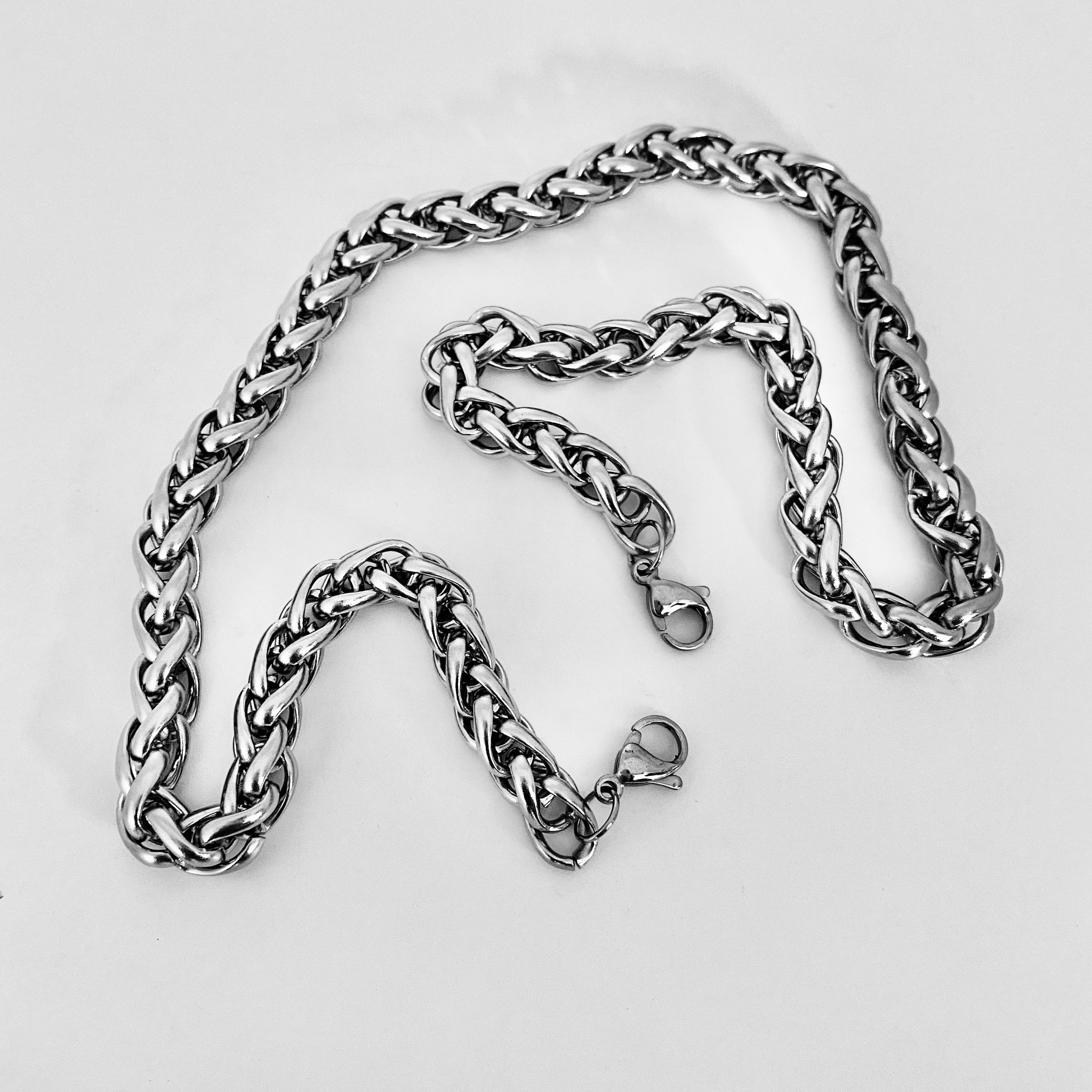 stainless steel mask chain by NYET Jewelry