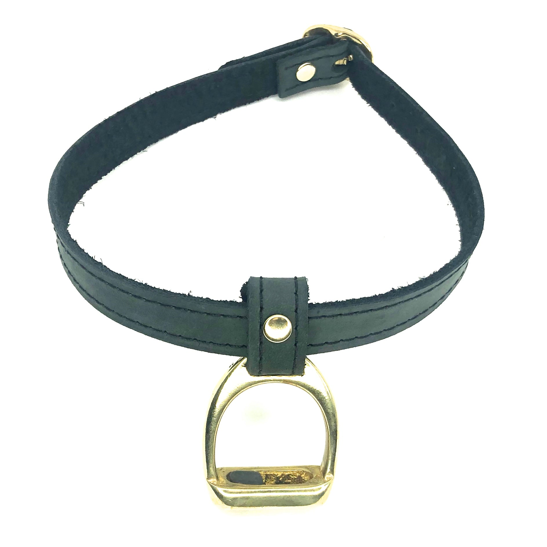 Nyet Jewelry stirrup choker by nyet jewelry.