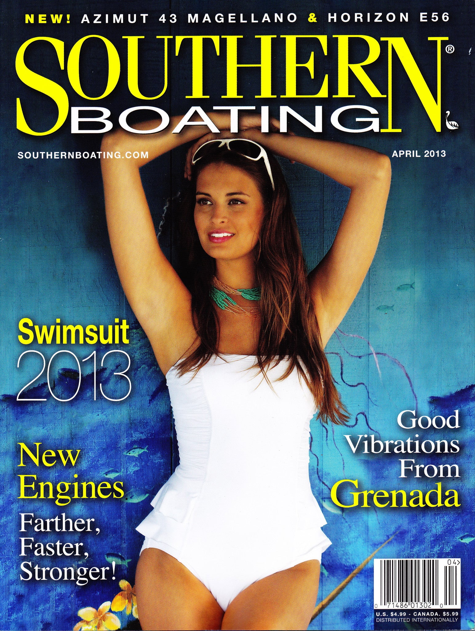 Southern Boating magazine 2013 Swimsuit edition