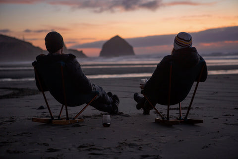 Sunset Travel Road Jeweler RV Life Oregon Coast Totally Staged Photo Union Studio Metals
