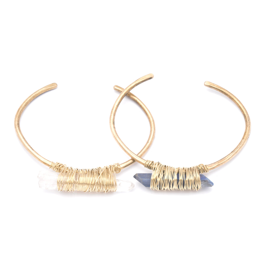 New Sticks & Stones Brass Cuff