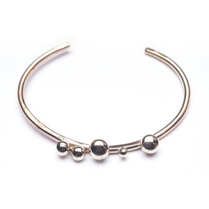 Orbital Bronze Adjustable Cufflette in Brass Bracelet ^^^ Union Studio Metals