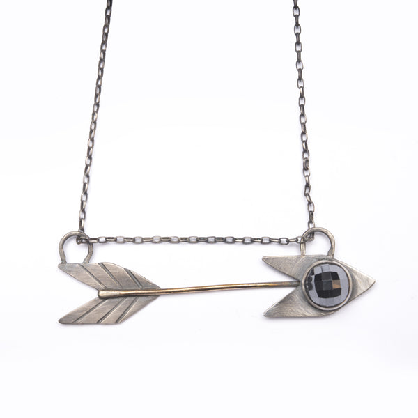 Horizontal Arrows Necklace