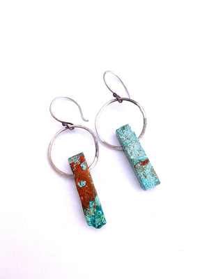 Turquoise Jessica Earrings