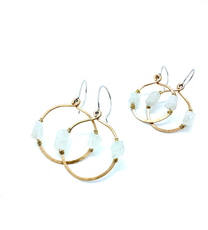 DESERT DAYS MOONSTONE EARRINGS