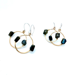 DESERT DAYS LABRADORITE EARRINGS