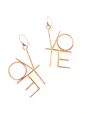 VOTE MEDIUM EARRINGS